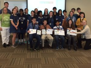 Maryland Chemical You be the Chemist Challenge 2016